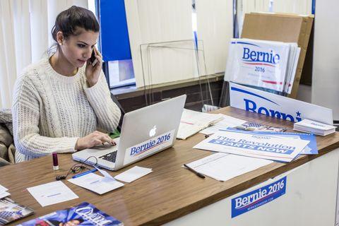 Bernie Sanders female staffer