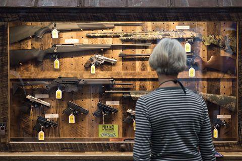 Wood, Shotgun, Back, Hardwood, Street fashion, Toolroom, Service, Air gun, Lumber, Trigger,