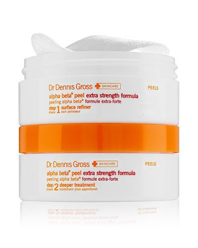 "<p>A one-two punch of exfoliating and balancing ingredients that refresh and resurface skin with a few tiny ""wax on, wax off"" motions.</p><p> Dr. Dennis Gross Skincare Alpha Beta Peel Extra Strength Daily Peel, $16, <a href=""http://bit.ly/1PPJwFq"">sephora.com</a>.</p>"
