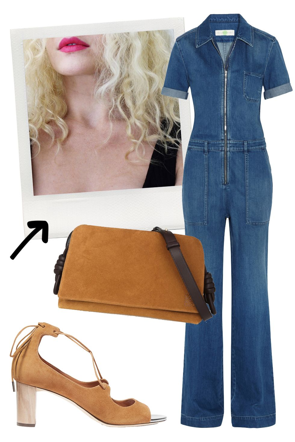 "<p>I find that being more adventurous with my look is an excellent way to weed out basics. If you can't get down with a denim jumpsuit and fluffy curls, you're not my cup of tea.</p><p><em>Stella McCartney Jumpsuit, $954&#x3B; <a href=""https://www.net-a-porter.com/us/en/product/645578/Stella_McCartney/stretch-denim-jumpsuit"" target=""_blank"">net-a-porter.com</a>&#x3B; Jimmy Choo Vernie Suede Sandals, $750&#x3B; <a href=""https://www.net-a-porter.com/us/en/product/655139/Jimmy_Choo/vernie-suede-sandals"" target=""_blank"">net-a-porter.com</a>&#x3B; Loewe Flamenco Bag, $1,950&#x3B; <a href=""https://www.net-a-porter.com/us/en/product/607397/Loewe/flamenco-flap-leather-and-suede-shoulder-bag"" target=""_blank"">net-a-porter.com</a>. </em></p>"