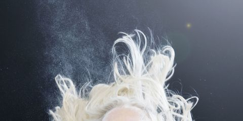 Smoke, Space, Blond, Silver, Underwater,