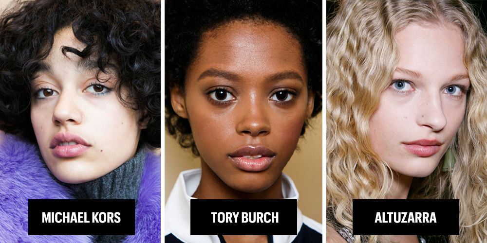 """<p>At long last, fashion week is embracing individuality and thus natural texture on the runway. Backstage at Altuzarra, hairstylist Odile Gilbert simply zhooshed up the born-with-it ringlets on models like Pooja Mor, Binx Walton, and Frederikke Sofie. Similarly fuzzy curl looks were standouts at Tory Burch and DVF. And of course an honorable mention must go out to <a href=""""http://www.textureontherunway.com/"""" target=""""_blank"""">Texture on the Runway</a>, which has been celebrating individual texture for the past couple of years!</p>"""