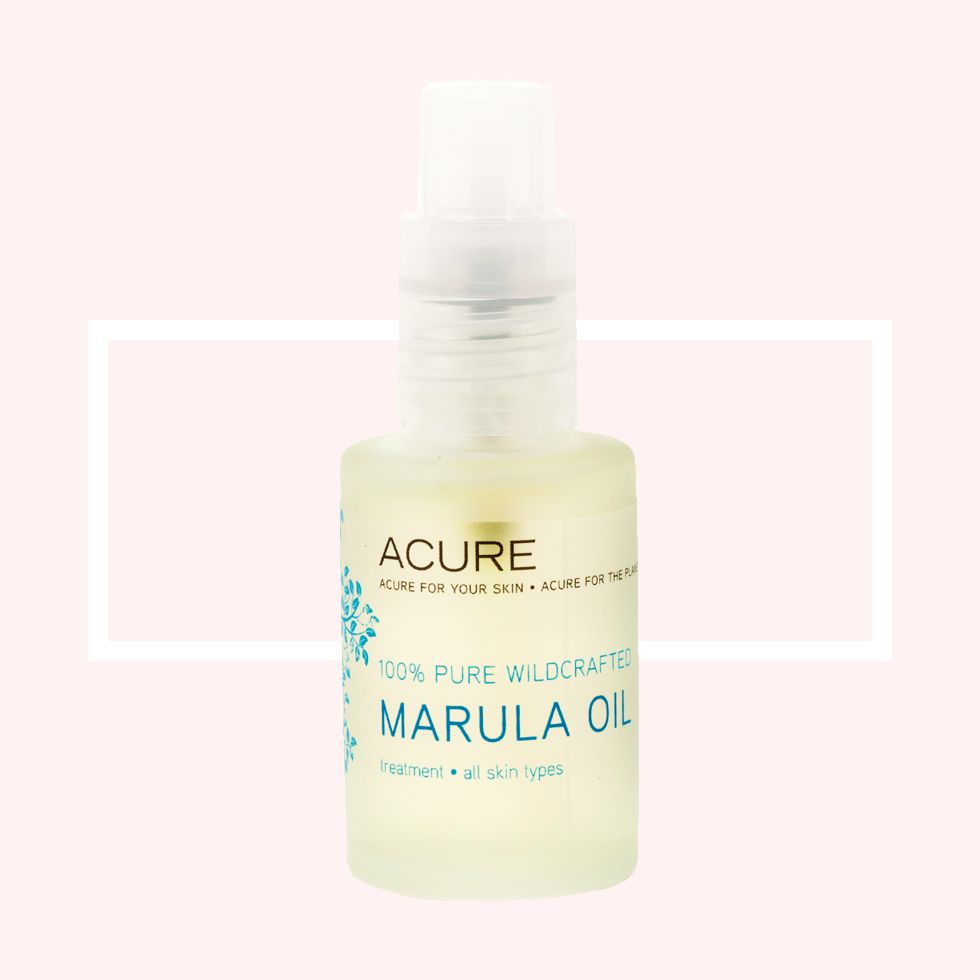 "<p>""Facial oils have been in high demand, and this marula oil is great for all skin types,"" says Giuliano. ""It's rich in proteins and omega fatty acids, plus it's lightweight and easily absorbed."" </p><p>What's more is that is that the profits benefit <a href=""http://www.marula.org.za/opps.htm"" target=""_blank"">the Marula project</a>, which provides economic empowerment to the South African women who harvest it.</p><p>See our 9 reasons you need to try marula oil <a href=""http://www.marieclaire.com/beauty/a14228/marula-oil-beauty-benefits/"" target=""_blank"">here</a>.</p>"