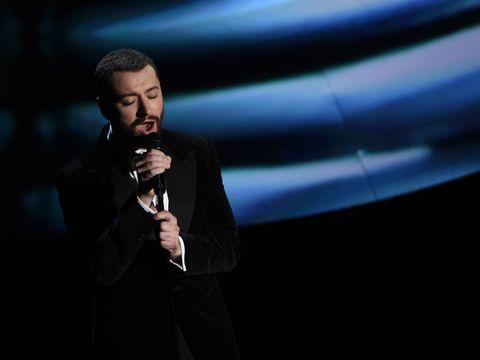Sam Smith performs at Oscars