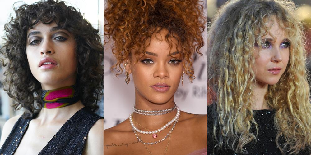 Curly Bangs Trend Curly Hair Bangs Hairstyles