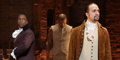 Hamilton on Broadway