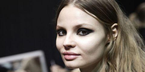 Nose, Mouth, Lip, Cheek, Eye, Hairstyle, Skin, Chin, Forehead, Eyebrow,