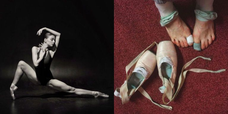 15 Raw, Beautiful Photos That Show What It's Really Like to Be a Ballerina