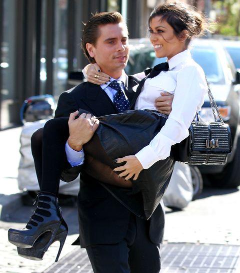 Leg, Trousers, Shirt, Outerwear, Collar, Formal wear, Suit trousers, Street fashion, Tie, Love,