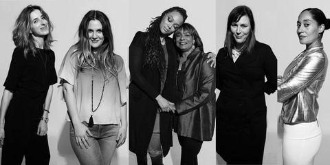 Sleeve, Standing, White, Facial expression, Style, Monochrome photography, Black-and-white, Monochrome, Denim, Fashion,