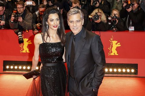 George Clooney Says He and Amal Stay in Touch via Social Media