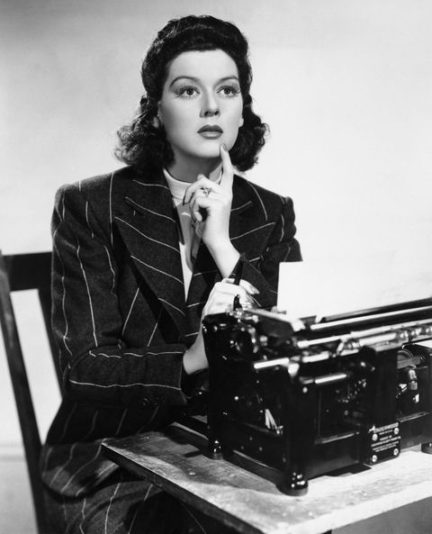 <p>Rosalind Russell in <em>His Girl Friday</em></p>