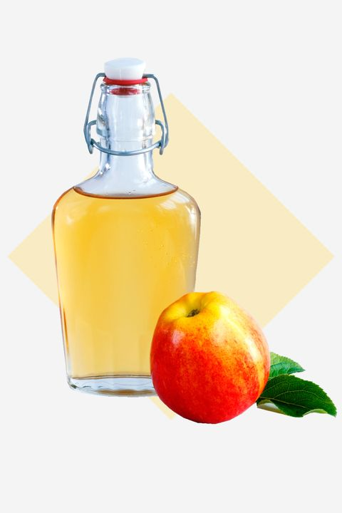 """<p>""""Once a week, do a rinse with a capful of apple cider vinegar mixed with three cups of warm water to seal in color."""" —famed colorist Aura Friedman</p>"""