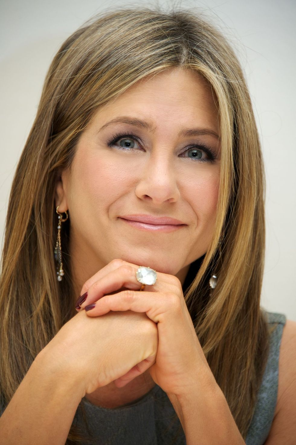 """Jennifer Aniston Jen has never hid the fact that she's not willing to fit into society's molds for women . """"I don't have this sort of checklist of things that have to be done and if they're not checked then I've failed some part of my feminism or my being a woman or my worth or my value as a woman…Y'know, I've birthed a lot of things. I feel like I've mothered many things. And I don't think it's fair to put that pressure on people,"""" she told the Today Show in 2014."""