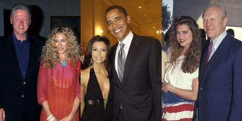 What 32 Celebrities Wore to Meet the President