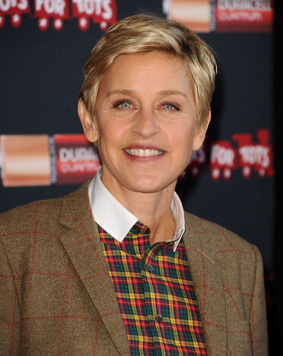 """Ellen DeGeneres In response to a question about her and wife Portia de Rossi's baby status after five years of marriage, Ellen addressed it head-on: """"We'd probably be great parents. But it's a human being and unless you think you have excellent skills and have a drive or yearning in you to do that, the amount of work that that is and responsibility—I wouldn't want to screw them up! We love our animals,"""" she said to People in 2014."""