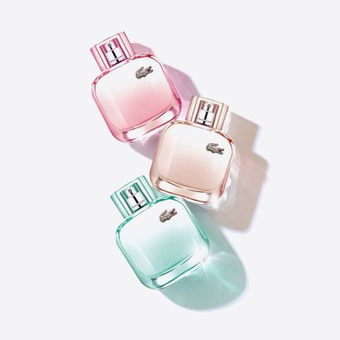 "<p>If being true to one scent isn't your cup of tea, Lacoste has created your very own <a href=""http://www.marieclaire.com/beauty/news/a12948/fragrance-wardrobe/"" target=""_blank"">fragrance wardrobe</a> with its three new L.12.12 Pour Elle scents: Naturale, Sparkling, and Elegant. Let your mood dictate which croc-emblazoned bottle you reach for.</p><p><strong>Key Notes: </strong>Coconut milk, jasmine, white flowers, and orris (Naturale); French macarons, jasmine, and white flowers (Sparkling); mimosa, jasmine, white flowers, and vetvier (Elegant). </p><p><em>Lacoste L.12.12 Pour Elle Fragrances</em><span class=""redactor-invisible-space""><em>, $59 each; <a href=""http://bit.ly/1RYsrJb"" target=""_blank"">kohls.com</a>.</em><br></span></p>"
