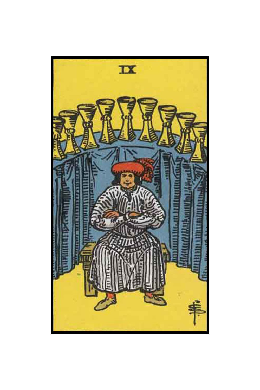"<p>Confidant Aries, can nothing stand in your way? The Nine of Cups, the card of wish fulfillment, is your card of the week. As no stranger to success, it should not feel shocking as blockages are removed; ""no"" quickly transform into ""yes"" in the coming days.  You know the old catch phrase ""Be careful what you wish for because you just might get it?"" Reword this sentiment for yourself as, ""Wish for what you want for because you will absolutely claim it."" Focus on ideals bringing you the maximum amount of joy. Continue to finesse others into seeing things from your unique point of view. Your powerful thoughts manifest at a rapid pace. Keep your end goals firmly in mind. Take this opportunity to tweak exactly what you want down to the smallest detail. Consider emotions you want to embrace. Offer gratitude generously. Take extra steps to thank and acknowledge people who have gone out of their way for you. Remember, every achieved goal carries unforeseen circumstances and consequences. Reach toward goals aligning with your soul's purpose. Unexpected outcomes transform into delightful surprises.</p><p><br></p><p><br></p><p>Aries Tarot Tip of the Week ~ The answer is yes.</p>"