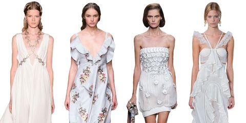 Clothing, Dress, Sleeve, Shoulder, Joint, Pattern, Formal wear, Style, Waist, Beauty,