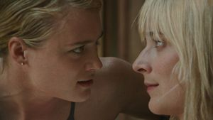 """<p>In Sophia Takal's psychological thriller, Anna (Mackenzie Davis) and Beth (Caitlin FitzGerald) play actresses living in L.A. whose girls' trip to Big Sur fuels the jealousies that are eroding their friendship instead of fixing them. Beth, despite her rising star, doesn't believe in herself and feels threatened by Anna, who covets Beth's success and appeal. Things take a dark turn when their subtext-laden conversations finally culminate in a full-blown confrontation. You might recognize your darkest friendship in Anna and Beth's but even if you don't, <em>Always Shine </em><span class=""""redactor-invisible-space"""">is a powerful meditation on</span> personality, desire, and relationships, and how cultural expectations for women can affect all three. </p>"""