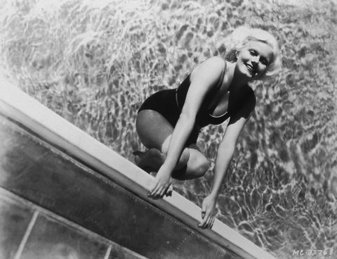 <p>For retro starlets like Jean Harlow, exercise that <i>felt <em></em></i>like leisure went  a long way. Just as much of an opportunity to show off a stylish swimsuit as it was a way to get that heart rate up, swimming was a go-to activity. But whether you're taking a dip in Clark Gable's pool or at a local health club, swimming is an A+ way to maintain a healthy weight and tone your muscles.</p>