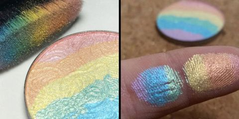 People Are Freaking Out Over This Gorgeous Rainbow Highlighter