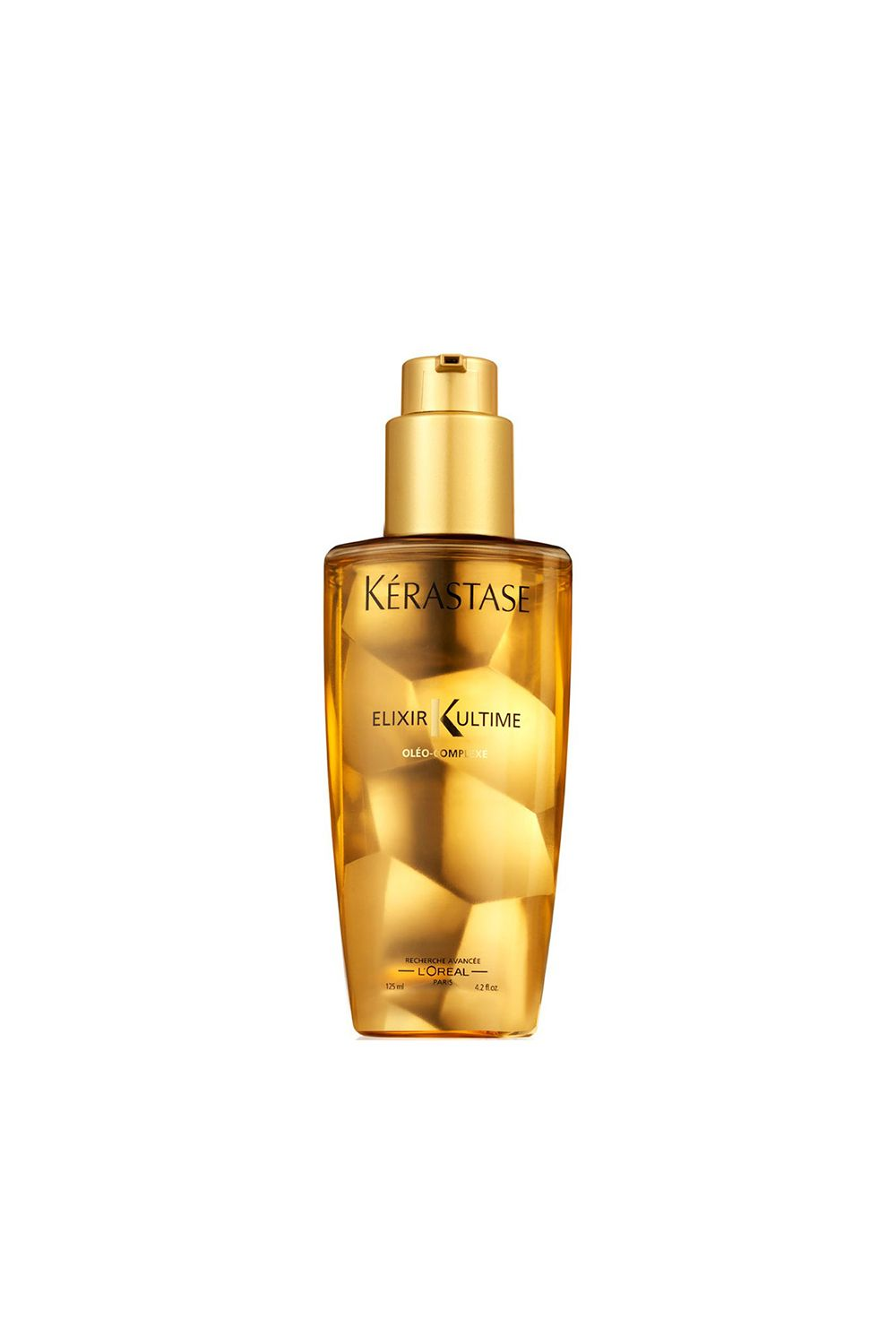 "<p>Two of the worst hair injustices? Split ends and breakage from hot tools. This elixir acts as as a counterpoint to heat damage, taming and smoothing ends without any metal involved. </p><p><strong>Kerastase Elixir Ultime Original Oil, $58; <a href=""http://www.kerastase-usa.com/elixir-ultime-original-oil/EU00000.html#"" target=""_blank"">kerastase-usa.com</a>. </strong></p>"
