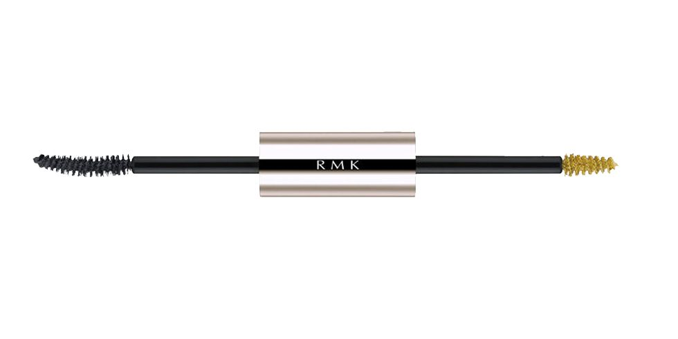 """<p>RMK W Color Mascara in Dark/Gray Yellow, $33.90; <a href=""""http://www.beautybay.com/cosmetics/rmk/wcolormascarass?utm_source=google%2Bshopping&utm_medium=organic&utm_campaign=shopping%2Bfeed&selectedSku=RMKC0624F&ctyid=us&gclid=CPDorpmmo8wCFYpZhgodSXoH7w"""" target=""""_blank"""">beautybay.com</a>.</p>"""