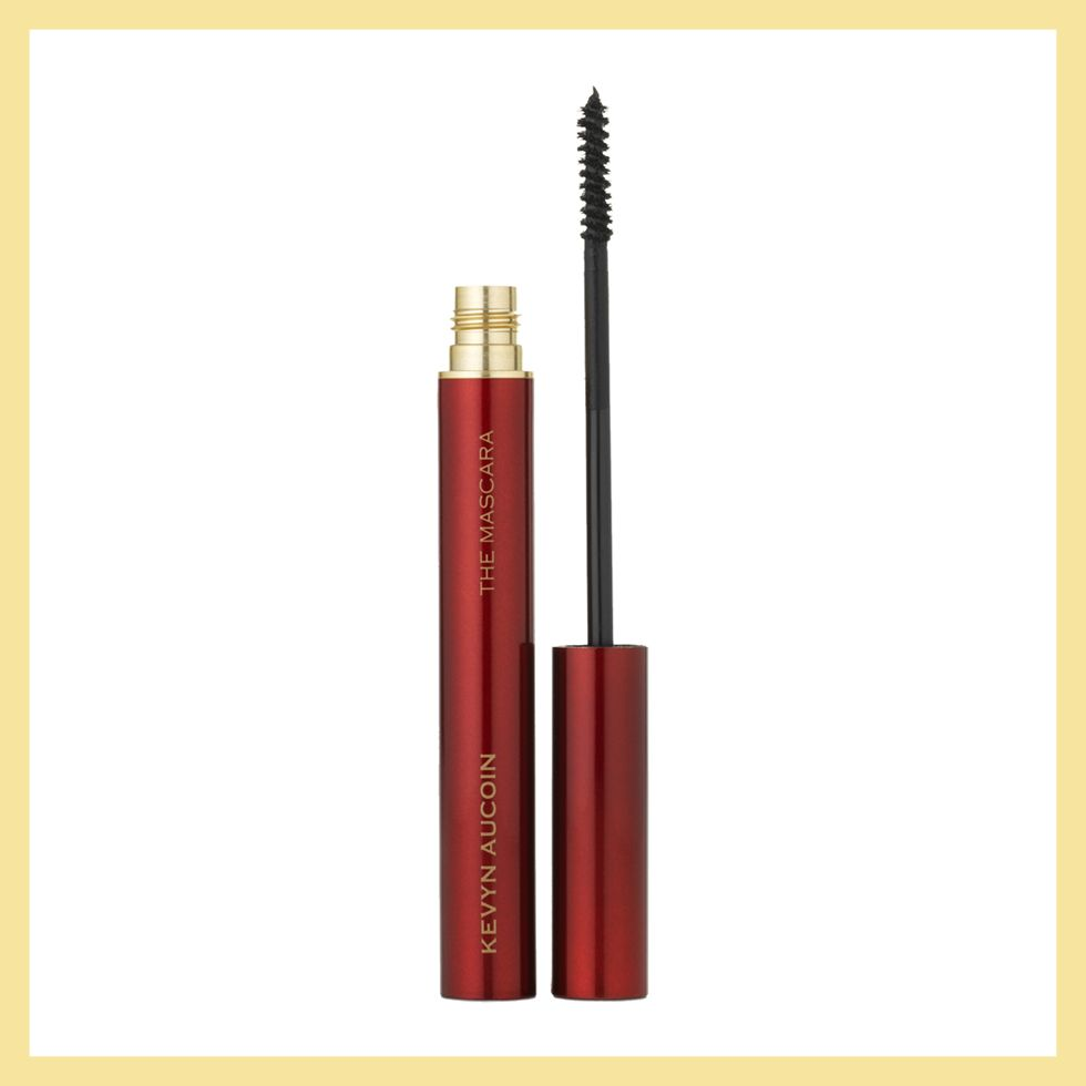 """<p>Is this tube not a total tall drink of water? Sleek, smooth, and ruby red—it's totally sexy. Not to mention, it's like a push-up bra for your lashes that comes off easy at the end of a long day.</p><p>Kevyn Aucoin The Curling Mascara, $28; <a href=""""http://bit.ly/1NlDbTa"""" target=""""_blank"""">spacenk.com</a>.</p>"""