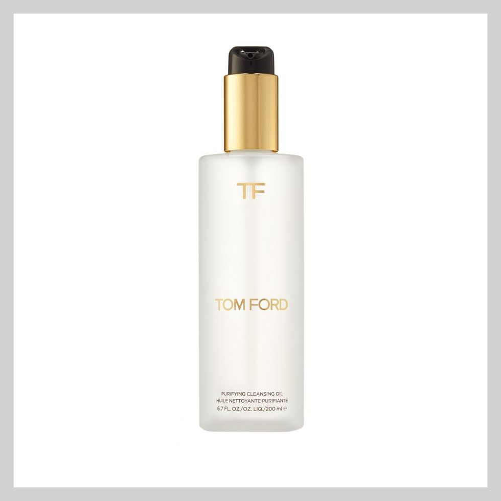 """<p>Yes, the price is steep, but Ford's new cleansing oil will sop off every last bit of makeup, as well as all the other scary toxins that collect on your face each and every day. And because it's Tom Ford, the face washing process won't feel like a chore, but rather a spa-like treatment.</p><p>Tom Ford Purifying Cleansing Oil, $80; <a href=""""http://bit.ly/1NlAGQJ"""" target=""""_blank"""">saksfifthavenue.com</a>.</p>"""