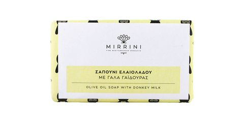"<p>Made in Greece, this ultra-gentle soap teams olive oil with donkey milk proteins to nourish the skin. Use it to wash your face as a cleanser or let it melt into your bath à la Cleo.</p><p>Mirrini Olive Oil Soap with Donkey Milk, $9.99; <a href=""http://bit.ly/1TlMwJV"" target=""_blank"">amazon.com</a>.</p>"