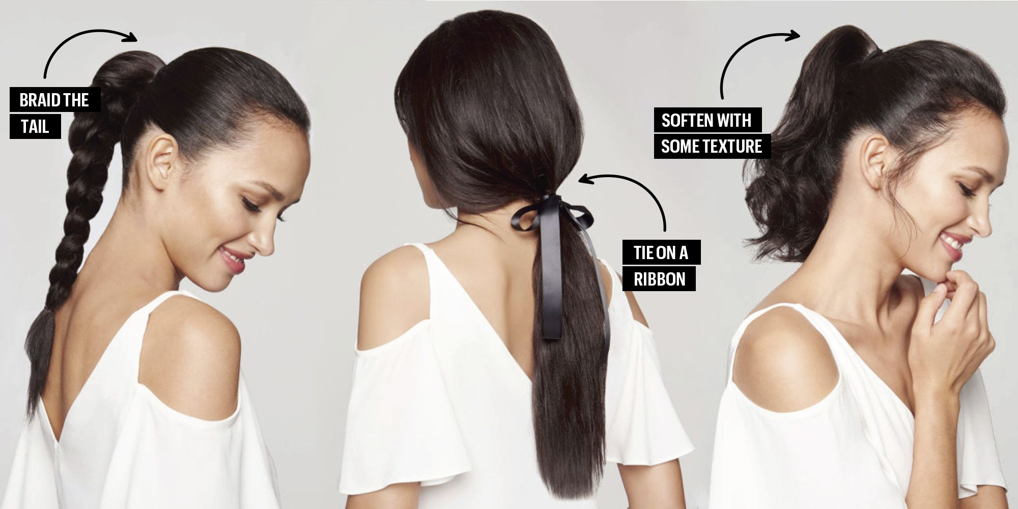 5 Lightning-Fast Ways to Update Your Ponytail