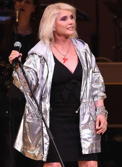 <p>The Blondie icon was adopted by Richard and Catherine Harry when she was three months old. Long before she made a name for herself as a punk singer-songwriter at New York institutions like CBGB's and Max's Kansas City, she sang in church choirs in Hawthorne, New Jersey, where she grew up.</p>