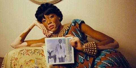 Photograph, Wrist, Pattern, Polka dot, Vintage clothing, Bracelet, Stock photography, Day dress,