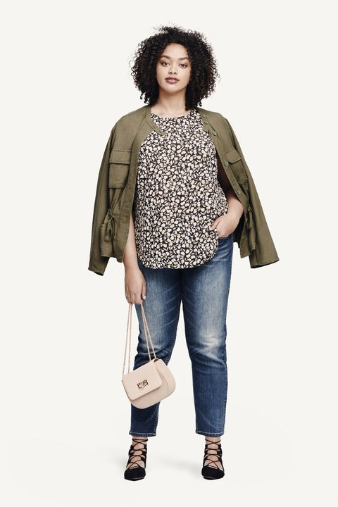 Clothing, Product, Brown, Sleeve, Denim, Shoulder, Textile, Jeans, Bag, Outerwear,