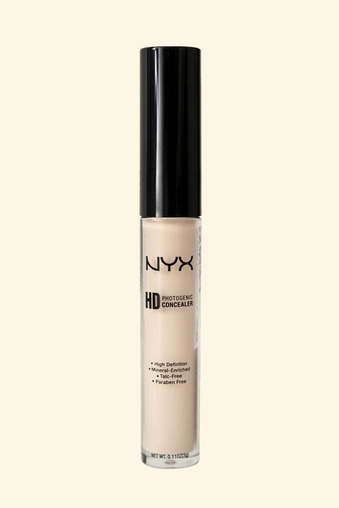 "<p>At under $5, it makes sense to be skeptical, but this concealer will cover everything (blemishes, redness, discoloration, and so on) with a smooth matte finish that never looks cakey and stays on forever.</p><p>NYX HD Photogenic Concealer, $4.99; <a href=""http://bit.ly/1VWMgVb"" target=""_blank"">ulta.com</a>.</p>"