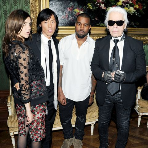 <p>Fact: 80 percent of Kanye's unhappiness can be attributed to being underdressed. </p>