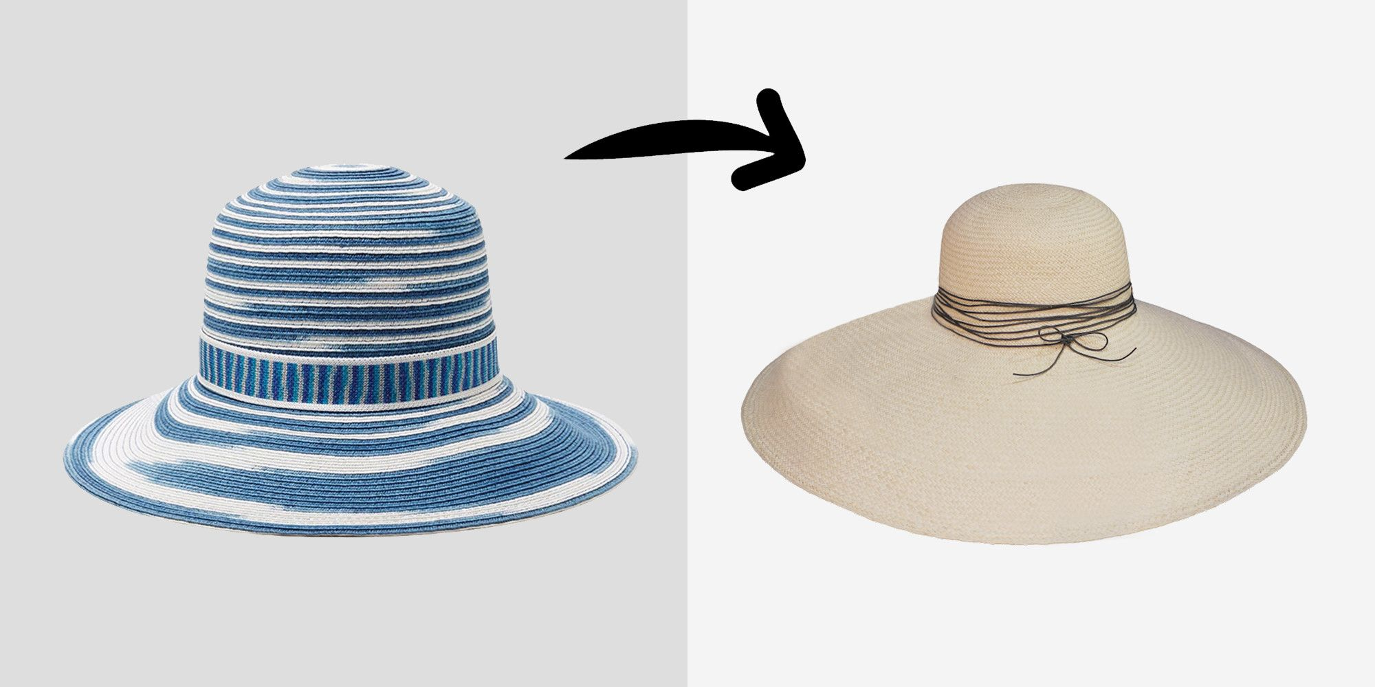 "<p>A wider brim = more sun protection but also more mystery and glamour and allure. Or, at the very least, it makes it easier to pretend you're not sleeping. </p><p><br></p><p><em>Missoni striped sun hat, $395, <a href=""http://rstyle.me/n/bppueebqb8f"">modaoperandi.com</a>; Artesano Panama hat, $260, <a href=""http://www.artesano.net/#!product-page/c6np/d034d05c-e8cf-dc44-7d44-a7d16444db63"">artesano.net</a>.</em></p>"