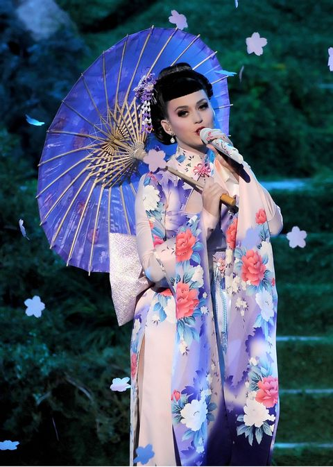 "<p>The charge: multiple counts of cultural appropriation during her 2013 American Music Awards performance. The defense: In a February <a data-track=""Body Text Link: External"" href=""http://www.gq.com/women/photos/201402/katy-perry-cover-story-february-2014"">interview</a> with <i>GQ</i>, she said ""All I was trying to do is just give a very beautiful performance about a place that I have so much love for and find so much beauty in, and that was exactly where I was coming from, with no other thought besides it.""</p>"