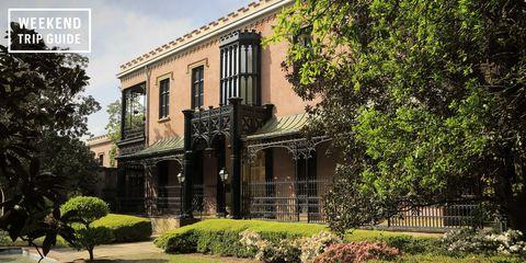Plant, Property, Real estate, Building, House, Home, Facade, Shrub, Door, Garden,