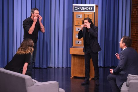 Kit Harington and Jimmy Fallon Got *Really* Into Charades with Rose Byrne and Blake Shelton