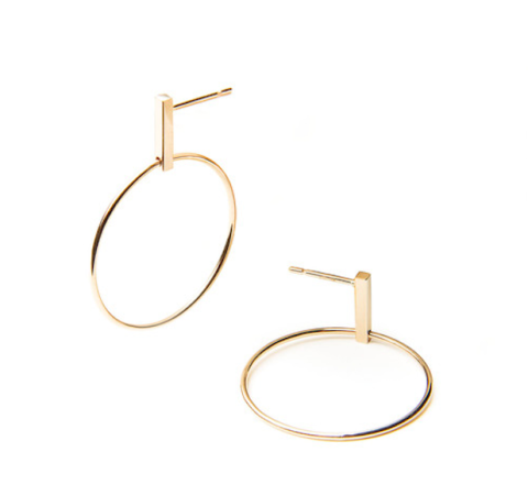 "<p>Winden Jewelry's self-described ""grown-up hoops"" seem like a pretty good jumping off point, yes? Yes. </p><p>Winden Meghan Hoops, $298, <a href=""http://www.windenjewelry.com/all/meghan-hoop-earrings-1"" target=""_blank"">windenjewelry.com</a>.<br></p>"
