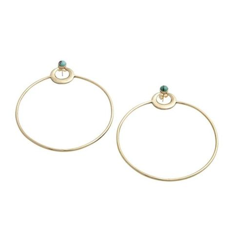 "<p>TFW Mercury is in retrograde and you deal with it in earring form.</p><p>High Solstice Hoops, $280, <a href=""http://www.leoblacknyc.com/jewelry/high-solstice-hoops"" target=""_blank"">leoblack.com</a>.</p>"