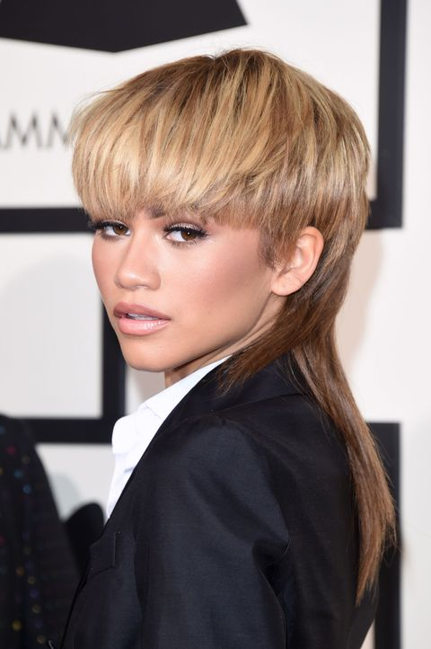 "<p>Queen of hair statements Zendaya donned a fresh AF mullet at the 2016 Grammys and the Twitterverse did not stay mum on the matter. </p><p><br></p><p>""Some would say the mullet didn't work out,"" she said in a chat with <a href=""http://www.elle.com/beauty/news/a34362/zendaya-beauty-advice/"" target=""_blank"">ELLE.com</a>. ""But to me, they were talking about it, so I'd say it worked out. I think we can't allow ourselves to get caught up in other people's opinions of ourselves because then we're never going to progress, we're never going to go forward. So we've got to be real. We've got to do what we want to do even if people don't like it."" </p><p><br></p><p>Amen, sista!<br></p>"