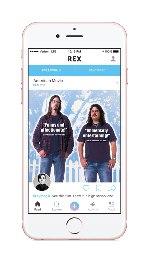 "<p>Think of <a href=""https://itunes.apple.com/us/app/rex-share-recommendations/id965827767?mt=8""><strong>REX</strong></a> as an extensive network of prime recommendations, where friends and strangers alike can share anything from the best vintage stores to the most underrated brunch spots. Use the app to find out where all the foodies go, or (hidden bonus) as a secret dating app for meeting people who have excellent taste.</p><p><em>Free, iOS</em><span></span></p>"