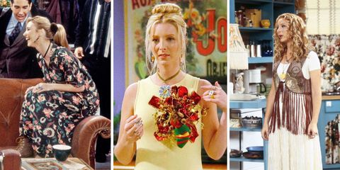 40 Phoebe Buffay Fashion Moments You Forgot You Were Obsessed with on 'Friends'