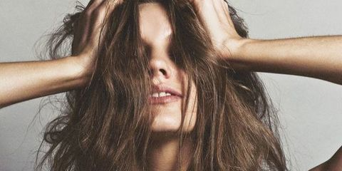 Lip, Hairstyle, Skin, Eyebrow, Joint, Wrist, Facial expression, Elbow, Eyelash, Long hair,