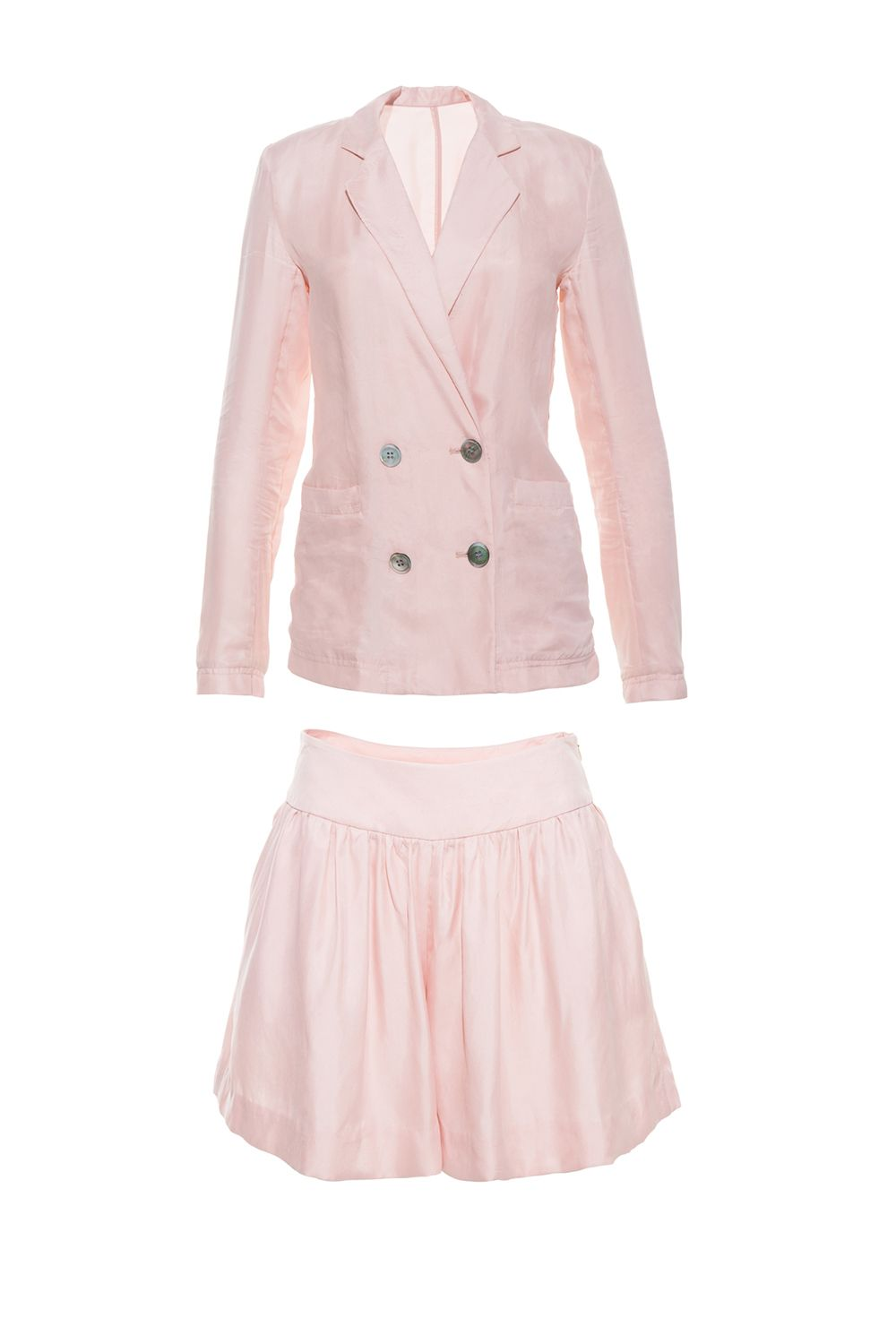 "<p>No explanation of its closet-renewal powers needed because pink. shorts. suit. </p><p>Front Row Shop shorts suit, $101, <a href=""http://rstyle.me/n/bqznc2bqb8f"">frontrowshop.com</a>.</p>"