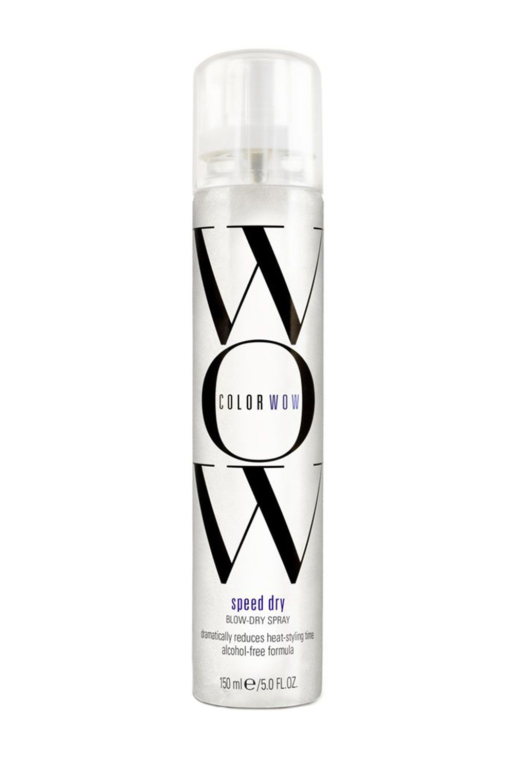 "<p>ColorWow is a line for color-treated hair (#WhoWouldaThunkIt) but this blowdry spray is a saving grace for everyone—natural or not—alike. The alcohol-free formula cuts drying time drastically, while leaving a healthy shine (with no stickiness). Trust.</p><p>$24, <a href=""http://www.ulta.com/ulta/browse/productDetail.jsp?productId=xlsImpprod6470111"" target=""_blank"">ulta.com</a></p>"