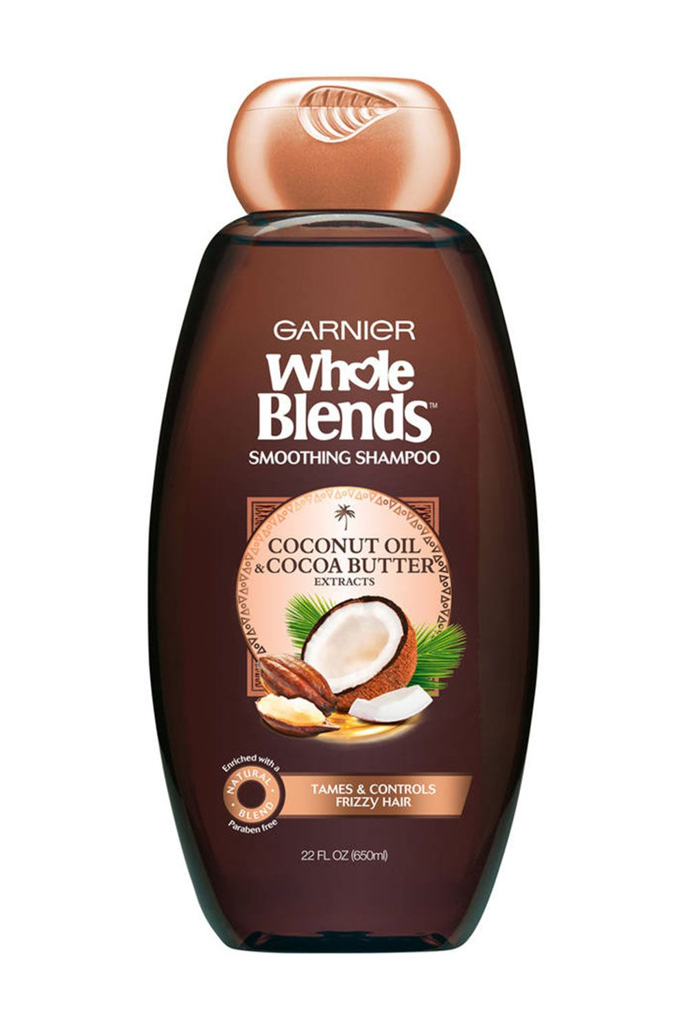 "<p>5/5 friends agree, they've never had better and softer hair than after using this line. No joke. With nourishing coconut butter and coconut oil, your hair will feel weightless and just, so, *so* soft. </p><p>$5, <a href=""http://www.garnierusa.com/products/haircare-whole-blends/coconut-cocoa-smoothing.aspx"" target=""_blank"">garnierusa.com</a></p>"